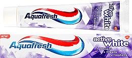 "Духи, Парфюмерия, косметика Зубная паста ""Активное отбеливание"" - Aquafresh Active White Toothpaste"