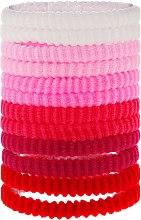 Духи, Парфюмерия, косметика Резинки для волос розовые mix, 12 шт - Top Choice