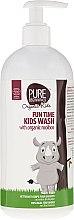 Духи, Парфюмерия, косметика Гель для мытья тела - Pure Beginnings Fun Time Kids Wash With Organic Rooibos