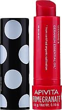Духи, Парфюмерия, косметика Бальзам для губ с пчелиным воском и гранатом - Apivita Ruby Lips Limited Edition 40 Years Lip Care Pomegranate