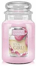 Духи, Парфюмерия, косметика Ароматическая свеча в банке - Country Candle It's a Girl