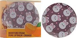 Духи, Парфюмерия, косметика Двойной апельсиновый бальзам для губ в баночке - SeaNtree Moisture Steam Dual Lip Balm Orange 3