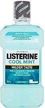 Духи, Парфюмерия, косметика Ополаскиватель для полости рта - Listerine Cool Mint Mild Taste
