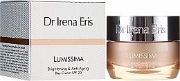 Духи, Парфюмерия, косметика Осветляющий и омолаживающий дневной крем - Dr. Irena Eris Lumissima Brightening & Anti-Aging Day Cream SPF 20