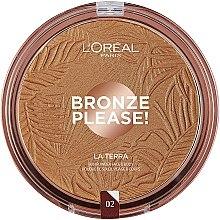 Духи, Парфюмерия, косметика Бронзер для лица - L'Oreal Paris La Terra Joli Bronze Bronzer