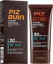 Духи, Парфюмерия, косметика Солнцезащитный крем-гель для лица - Piz Buin Hydro Infusion SPF 30