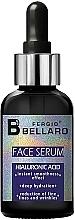 Духи, Парфюмерия, косметика Сыворотка для лица с гиалуроновой кислотой - Fergio Bellaro Face Serum Hyaluronic Acid