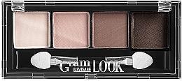 Духи, Парфюмерия, косметика Матовые тени для век - Luxvisage Glam Look Eye Shadow