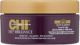 Духи, Парфюмерия, косметика Разглаживающий крем-блеск для укладки волос - CHI Deep Brilliance Olive & Monoi Smooth Edge High Shine & Firm Hold
