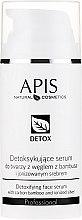 Духи, Парфюмерия, косметика Сыворотка-детокс для жирной и комбинированной кожи лица - APIS Professional Detox Detoxifying Face Serum With Carbon Bamboo And Ionized Silver