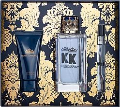 Духи, Парфюмерия, косметика Dolce&Gabbana K by Dolce&Gabbana - Набор (edt/100ml + sh/gel/50ml + edt/mini/10ml)
