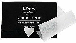 """Духи, Парфюмерия, косметика Салфетки для лица """"Matte Blotting"""" - NYX Professional Makeup Blotting Paper"""