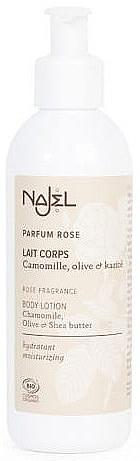 Молочко для тела с ароматом розы - Najel — фото N1