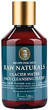 Духи, Парфюмерия, косметика Очищающий флюид для лица - Recipe For Men RAW Naturals Glacier Water Face Cleansing Fluid
