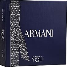 Духи, Парфюмерия, косметика Giorgio Armani Emporio Armani Stronger With You - Набор (edt/100ml + edt/mini/15ml + sh/gel 75ml)