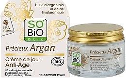 Духи, Парфюмерия, косметика Крем для лица антивозрастной дневной - So'Bio Etic Precieux Argan Anti-Age Day Cream