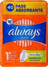 Духи, Парфюмерия, косметика Гигиенические прокладки, 40 шт. - Always Ultra Normal Plus