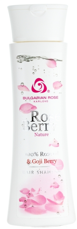 Шампунь для волос - Bulgarian Rose Rose Berry Nature — фото N1