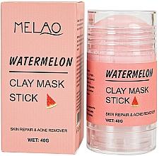 Духи, Парфюмерия, косметика Маска-стик для лица с арбузом - Melao Watermelon Clay Mask Stick