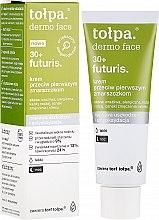 Духи, Парфюмерия, косметика Ночной крем для лица от первых морщин - Tolpa Dermo Face Futuris 30+ Face Cream