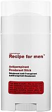 Духи, Парфюмерия, косметика Дезодорант-антиперспирант - Recipe For Men Antiperspirant Deodorant Stick