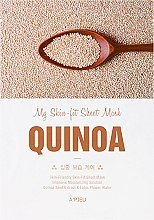 Духи, Парфюмерия, косметика Тканевая маска для лица с экстрактом киноа - A'Pieu My Skin-Fit Sheet Mask Quinoa