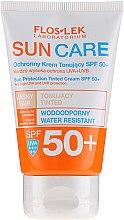 Духи, Парфюмерия, косметика Защитный тонизирующий крем SPF 50+ - Floslek Sun Protection Tinder Cream SPF50+