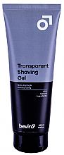 Духи, Парфюмерия, косметика Гель для бритья - Beviro Men?s Only Transparent Shaving Gel
