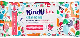 Духи, Парфюмерия, косметика Антибактериальные освежающие салфетки - Cleanic Kids Care