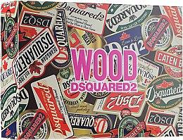 Духи, Парфюмерия, косметика Dsquared2 Wood Pour Femme - Набор (edt/100ml + edt/10ml + sh/gel/150ml)