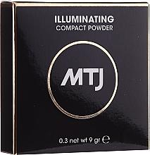 Духи, Парфюмерия, косметика Осветляющая пудра для лица - MTJ Cosmetics Illuminating Compact Powder