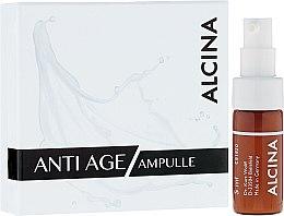 Духи, Парфюмерия, косметика Ампулы для лица антивозрастные - Alcina Anti Age Ampulle