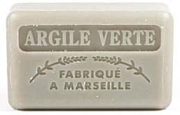 Духи, Парфюмерия, косметика Марсельское мыло с зеленой глиной - Foufour Savonnette Marseillaise Argile Verte