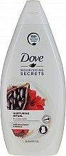 Духи, Парфюмерия, косметика Гель для душа с маслом какао и гибискусом - Dove Nourishing Secrets Shower Gel