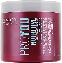 Духи, Парфюмерия, косметика Маска для волос увлажнение и питание - Revlon Professional Pro You Nutritive Mask