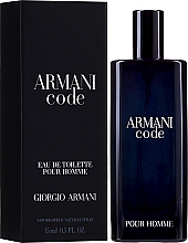 Духи, Парфюмерия, косметика Giorgio Armani Armani Code - Туалетная вода (мини)