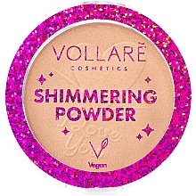 Духи, Парфюмерия, косметика Мерцающая пудра для лица - Vollare Shimmering Powder