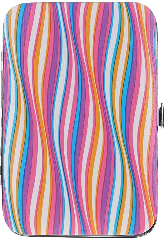 Набор маникюрный, 6 предметов, 79689, разноцветный - Top Choice — фото N2