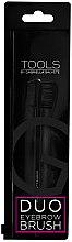 Духи, Парфюмерия, косметика Кисть двухстороняя для ресниц и бровей - Gabriella Salvete Duo Eyebrow Brush