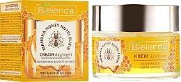 Духи, Парфюмерия, косметика Питательный увлажняющий крем для лица - Bielenda Manuka Honey Nutri Elixir Day/Night Cream