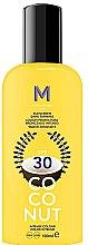 Духи, Парфюмерия, косметика Солнцезащитный крем для темного загара - Mediterraneo Sun Coconut Sunscreen Dark Tanning SPF30