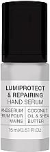 Духи, Парфюмерия, косметика Сыворотка для рук - Alessandro International Spa Lumiprotect & Repairing Hand Serum