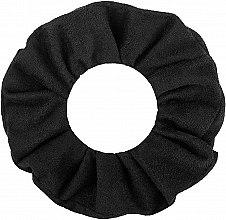 "Резинка для волос экозамша, чёрная ""Suede Classic"" - MakeUp Hair Accessories — фото N2"