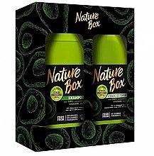 Духи, Парфюмерия, косметика Набор - Nature Box Avocado Oil (shmp/385ml + cond/385ml)