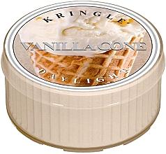 Духи, Парфюмерия, косметика Чайная свеча - Kringle Candle Vanilla Cone Daylight