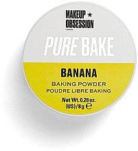 Духи, Парфюмерия, косметика Матирующая рассыпчатая пудра - Makeup Obsession Pure Bake Baking Powder Banana