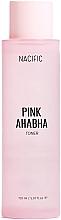 Духи, Парфюмерия, косметика Тонер для лица с экстрактом арбуза, АНА и ВНА кислотами - Nacific Pink AHA BHA Toner