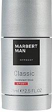Духи, Парфюмерия, косметика Дезодорант-стик - Marbert Man Classic Sport Deo Stick