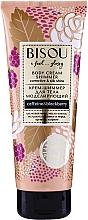 Крем-шиммер моделирующий для тела - Bisou Collagen&Blackberry Body Cream Shimmer — фото N1