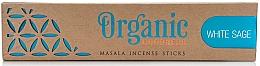 Духи, Парфюмерия, косметика Ароматические палочки - Song Of India Organic Goodness White Sage